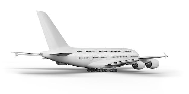Пассажирский самолет 3d визуализации