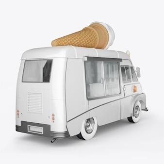 アイスクリーム用の3dレンダーマシン