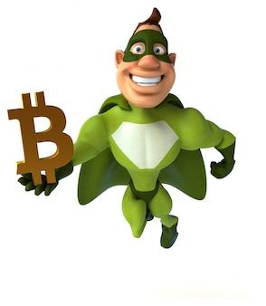 Веселый супергерой - 3d персонаж