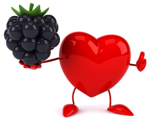Веселое сердце - 3d персонаж