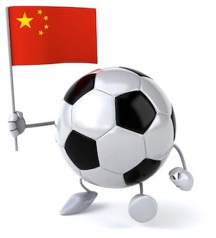 サッカーボール-3dキャラクター