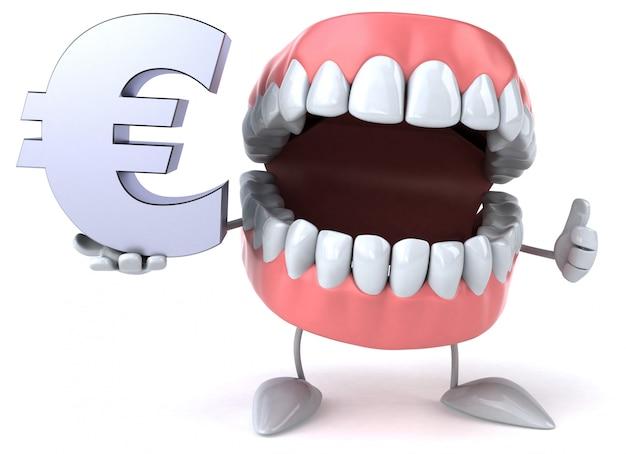 楽しい歯-3dキャラクター