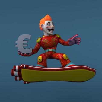 Мексиканский герой - 3d персонаж