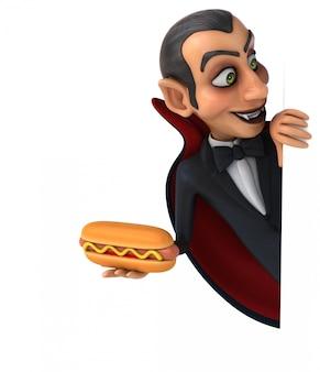 3d персонаж вампира