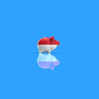 Копилка - 3d иллюстрация