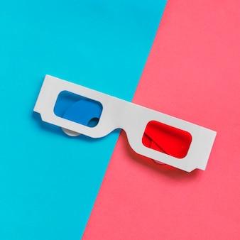 段ボールの3dメガネ