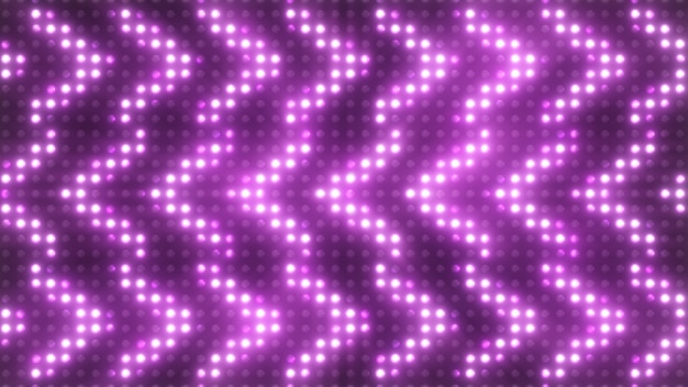 Красочные мигающие огни с прожектором прожекторов. 3d иллюстрация