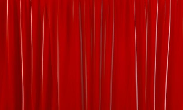 3d-рендеринг. вертикальная роскошная красная предпосылка дизайна ненесущей стены.
