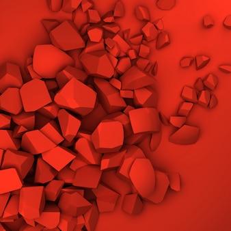 Драгоценные камни 3d фон