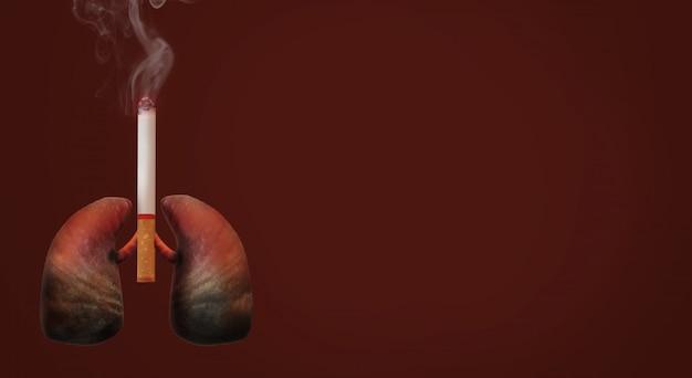 Мир перевода 3d отсутствие предпосылки изображения дня табака.