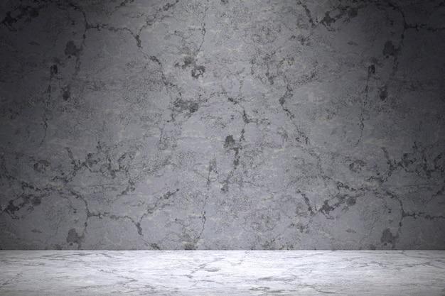3d-рендеринг, мраморная таблица роскошный фон для отображения продукта с пустой копией пространства