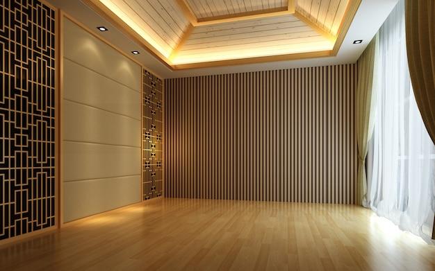 3d иллюстрации красивая светлая теплая комната