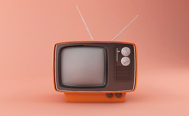 3dレトロテレビ