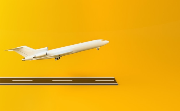 3d самолет
