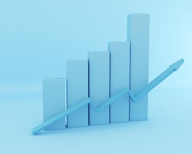 3d бизнес график