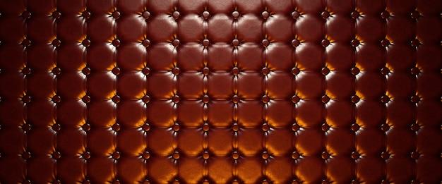 Застегнутая кожаная поверхность. 3d визуализация