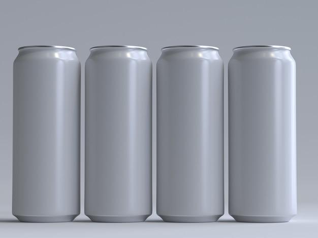 3d-рендеринг сода может без этикетки
