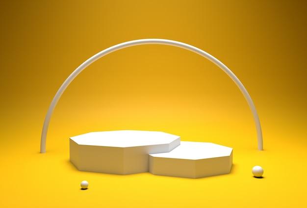 3d фоновая презентация продукта
