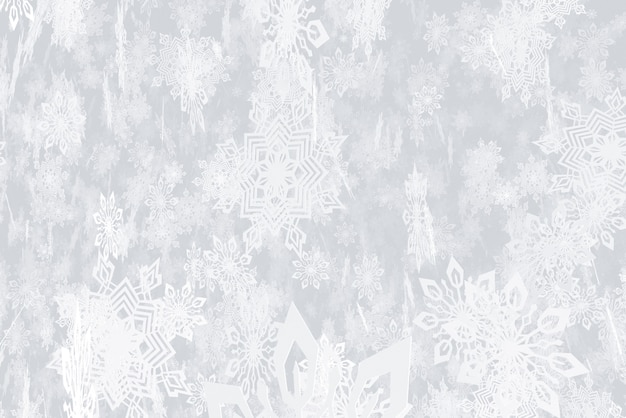 新年降雪3dのテーマのイラスト