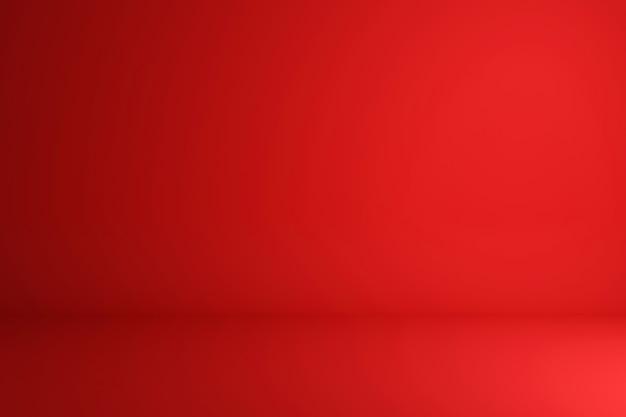 最小限のスタイルで鮮やかな夏の背景に空白の赤いディスプレイ。製品を表示するための空白のスタンド。 3dレンダリング。