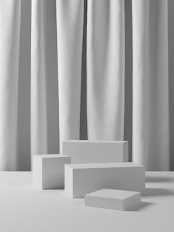 製品の表示のための抽象的な背景。 3dレンダリング