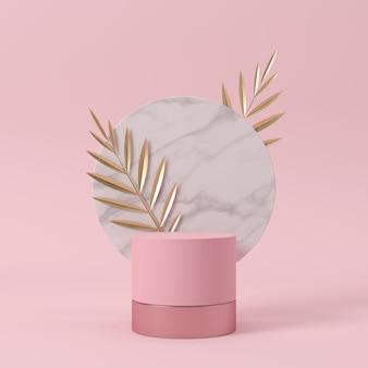 抽象的な背景、シーン。 3Dレンダリング