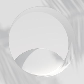 製品展示用の抽象的なシーン。 3dレンダリング
