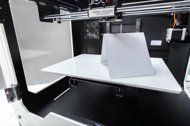 3d печать в процессе