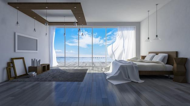 3ds seaside room