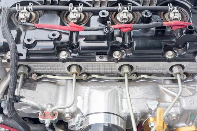 4-цилиндровый дизельный двигатель гоночного автомобиля