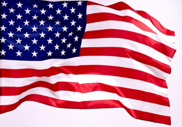 Американский флаг на день памяти или 4 июля