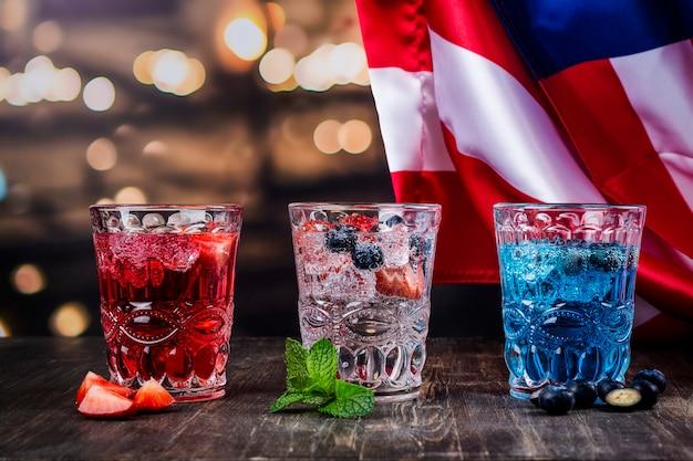 Напитки для празднования 4 июля