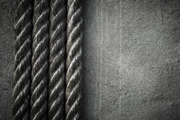 4つのロープの背景