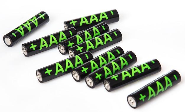 単4電池の山