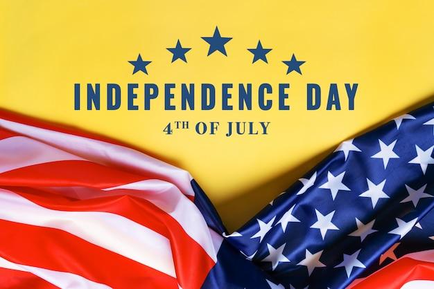 День независимости сша 4 июля концепция, флаг соединенных штатов америки