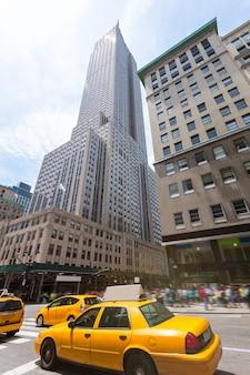 Нью-йорк манхэттен 5-й av empire state