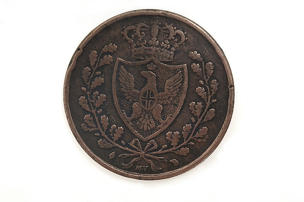 5 cents, 1826 italian currency