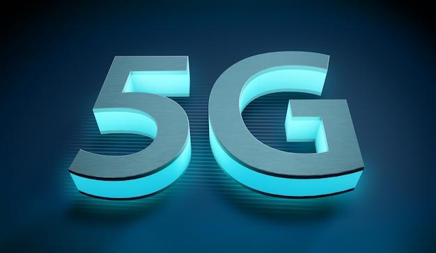 5g 기호, 인터넷 연결 기술의 개념