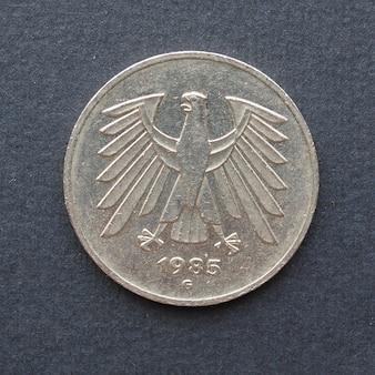 Монета 5 марок, германия