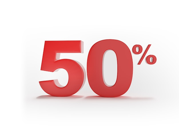 50% discount on sale