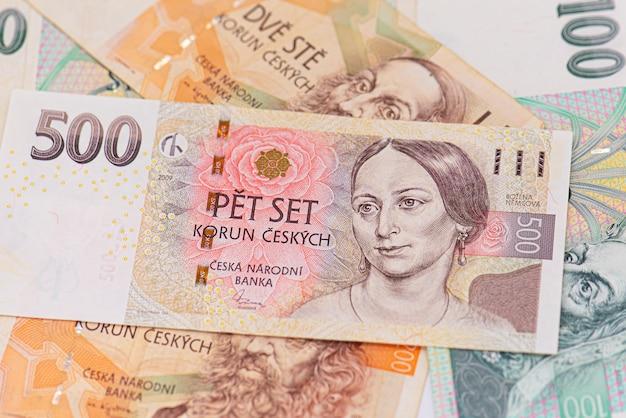 Банкнота 500 чешских крон