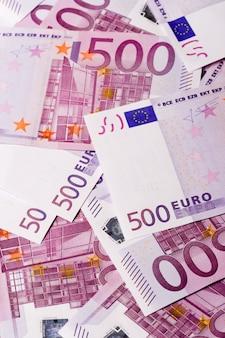 Фон банкноты 500 евро