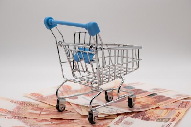Пустая потребительская корзина с инфляцией обесценивает 5000 рублей