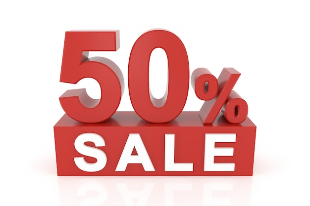 50% продаж