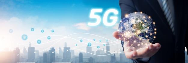 5g доступ и технологии по городу