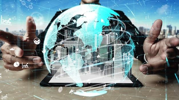 5g communication technology of internet network conceptual