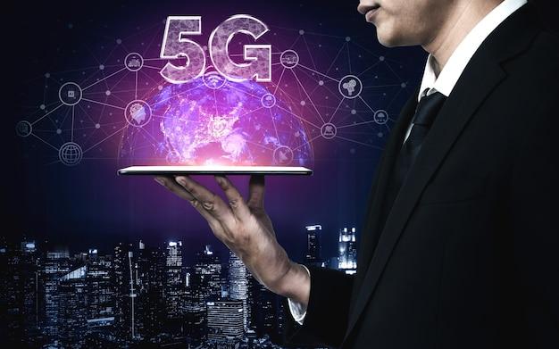 5g communication technology of internet network