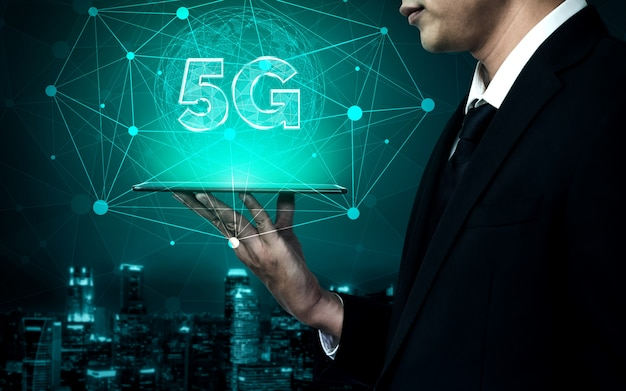 5g communication technology of internet network