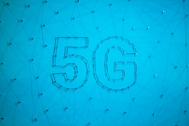 5g modern technology background