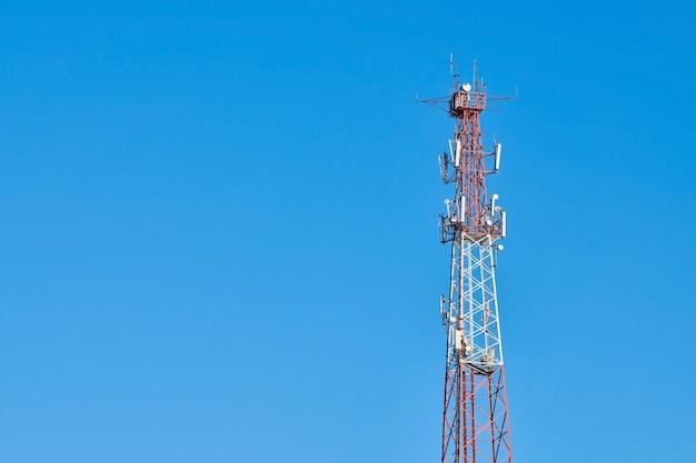 5g tv 라디오 타워, 복사 공간